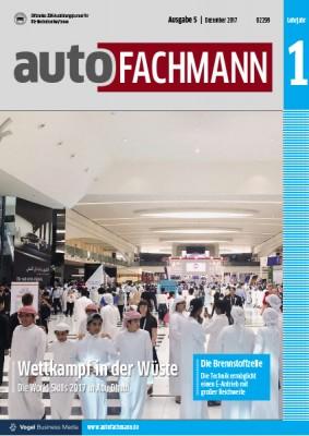 autoFACHMANN 5/2017 Lehrjahr 1