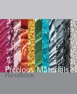"""The specialised book """"Precious Materials Handbook"""" by Umicore"""