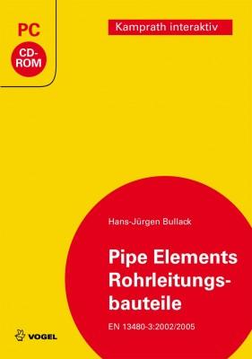 """Die CD-ROM """"Pipe Elements/Rohrleitungsbauteile"""" von Hans-Jürgen Bullack"""