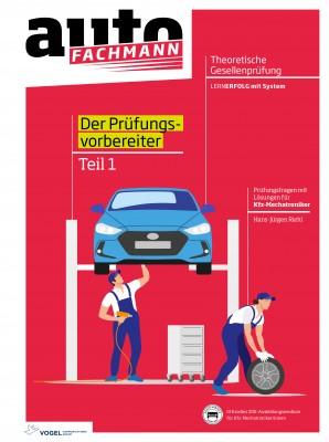 Prüfungsvorbereiter Theorie Teil 1 Kfz-Mechatroniker     Buch autoFACHMANN